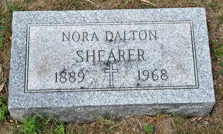 DALTON SHEARER, NORA - Richland County, Ohio | NORA DALTON SHEARER - Ohio Gravestone Photos