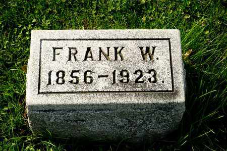 SHEELY, FRANK W - Richland County, Ohio | FRANK W SHEELY - Ohio Gravestone Photos