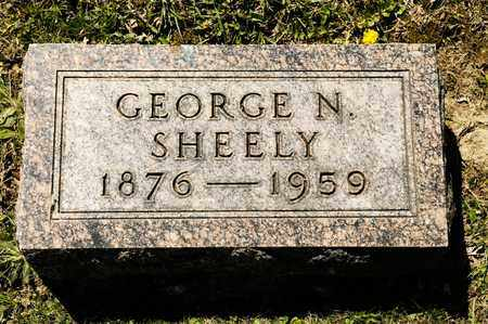 SHEELY, GEORGE N - Richland County, Ohio | GEORGE N SHEELY - Ohio Gravestone Photos