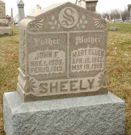 SHEELY, JOHN F - Richland County, Ohio | JOHN F SHEELY - Ohio Gravestone Photos