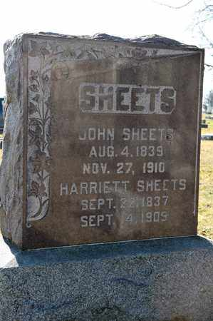 SHEETS, JOHN - Richland County, Ohio | JOHN SHEETS - Ohio Gravestone Photos