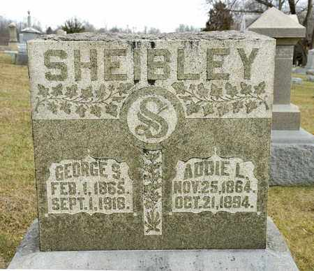 SHEIBLEY, GEORGE S - Richland County, Ohio | GEORGE S SHEIBLEY - Ohio Gravestone Photos