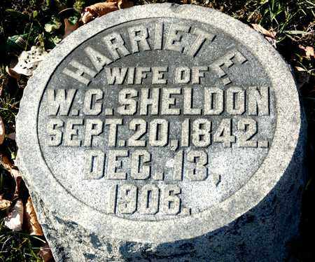 SHELDON, HARRIET E - Richland County, Ohio | HARRIET E SHELDON - Ohio Gravestone Photos
