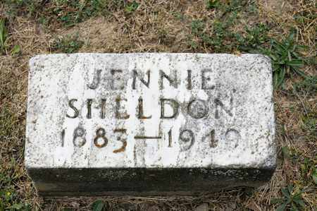 SHELDON, JENNIE - Richland County, Ohio | JENNIE SHELDON - Ohio Gravestone Photos