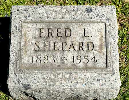 SHEPARD, FRED L - Richland County, Ohio | FRED L SHEPARD - Ohio Gravestone Photos