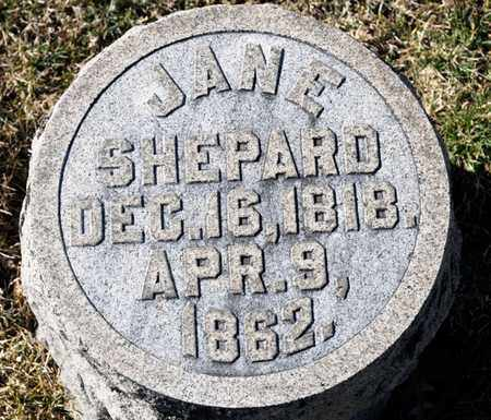 SHEPARD, JANE - Richland County, Ohio | JANE SHEPARD - Ohio Gravestone Photos