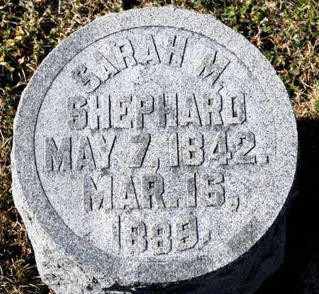 SHEPARD, SARAH M - Richland County, Ohio | SARAH M SHEPARD - Ohio Gravestone Photos