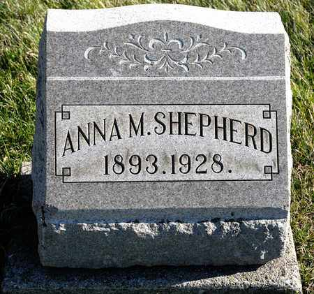SHEPHERD, ANNA M - Richland County, Ohio | ANNA M SHEPHERD - Ohio Gravestone Photos