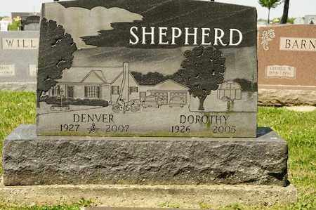 SHEPHERD, DENVER - Richland County, Ohio | DENVER SHEPHERD - Ohio Gravestone Photos