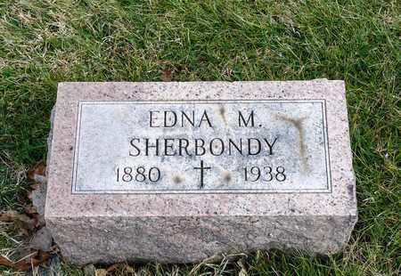 SHERBONDY, EDNA M - Richland County, Ohio | EDNA M SHERBONDY - Ohio Gravestone Photos