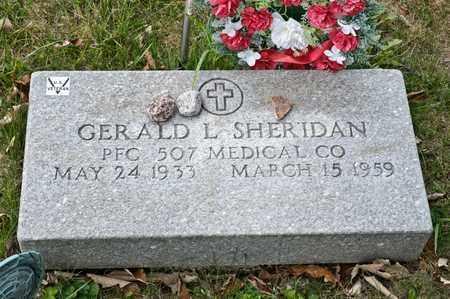 SHERIDAN, GERALD L - Richland County, Ohio | GERALD L SHERIDAN - Ohio Gravestone Photos