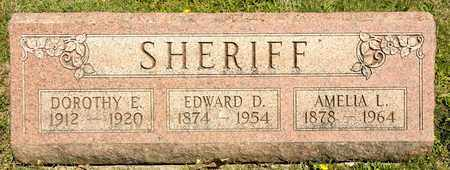 SHERIFF, AMELIA L - Richland County, Ohio | AMELIA L SHERIFF - Ohio Gravestone Photos