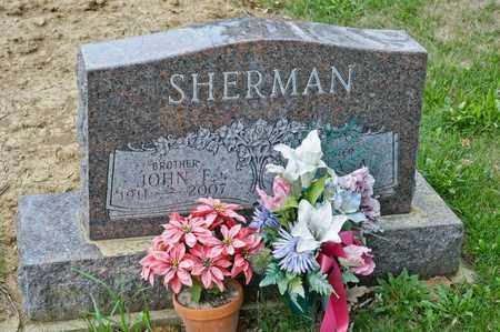 SHERMAN, JOHN F - Richland County, Ohio | JOHN F SHERMAN - Ohio Gravestone Photos