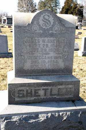 SHETLER, JAMES W - Richland County, Ohio | JAMES W SHETLER - Ohio Gravestone Photos