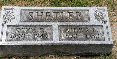 SHETLER, ARTHUR L - Richland County, Ohio | ARTHUR L SHETLER - Ohio Gravestone Photos