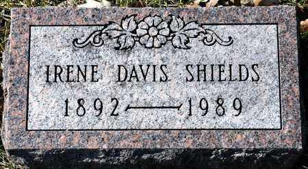SHIELDS, IRENE DAVIS - Richland County, Ohio | IRENE DAVIS SHIELDS - Ohio Gravestone Photos