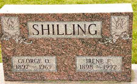 SHILLING, IRENE F - Richland County, Ohio | IRENE F SHILLING - Ohio Gravestone Photos