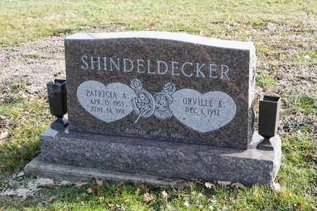 SHINDELDECKER, PATRICIA A - Richland County, Ohio | PATRICIA A SHINDELDECKER - Ohio Gravestone Photos