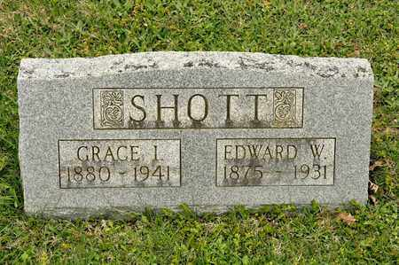SHOTT, EDWARD W - Richland County, Ohio | EDWARD W SHOTT - Ohio Gravestone Photos
