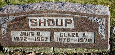 SHOUP, CLARA A - Richland County, Ohio | CLARA A SHOUP - Ohio Gravestone Photos