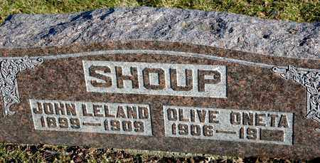 SHOUP, JOHN LELAND - Richland County, Ohio | JOHN LELAND SHOUP - Ohio Gravestone Photos