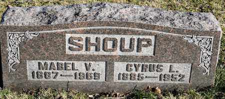 SHOUP, MABEL V - Richland County, Ohio | MABEL V SHOUP - Ohio Gravestone Photos