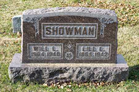 SHOWMAN, WILL L - Richland County, Ohio | WILL L SHOWMAN - Ohio Gravestone Photos