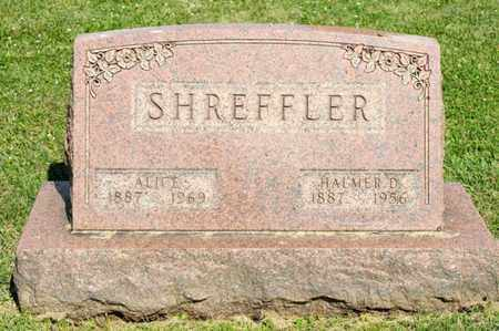 SHREFFLER, ALICE - Richland County, Ohio | ALICE SHREFFLER - Ohio Gravestone Photos