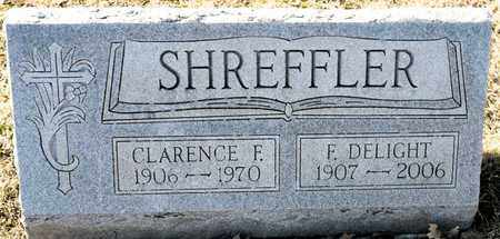 SHREFFLER, F DELIGHT - Richland County, Ohio | F DELIGHT SHREFFLER - Ohio Gravestone Photos
