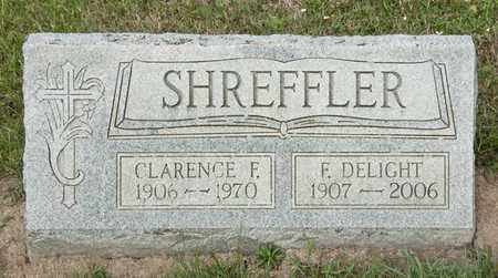 SHREFFLER, CLARENCE F - Richland County, Ohio | CLARENCE F SHREFFLER - Ohio Gravestone Photos