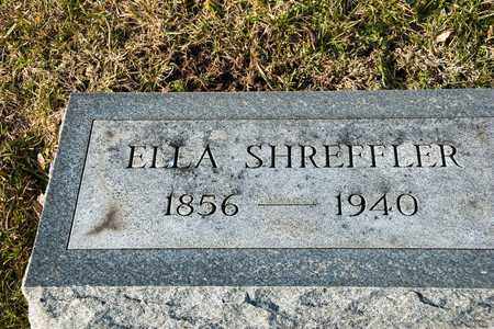 SHREFFLER, ELLA - Richland County, Ohio | ELLA SHREFFLER - Ohio Gravestone Photos