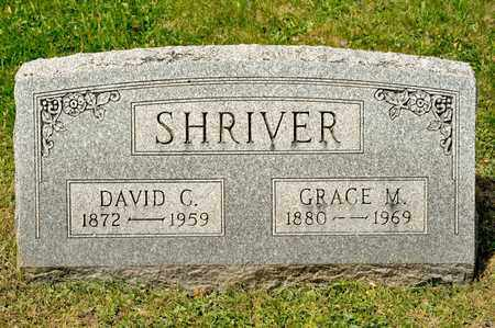 SHRIVER, DAVID C - Richland County, Ohio | DAVID C SHRIVER - Ohio Gravestone Photos