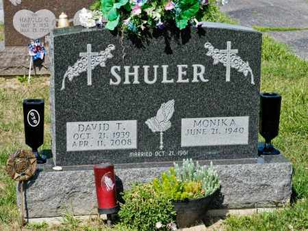 SHULER, DAVID T - Richland County, Ohio | DAVID T SHULER - Ohio Gravestone Photos