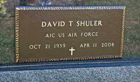 SHULER, DAVID T - Richland County, Ohio | DAVID T SHULER - Ohio Gravestone Photos