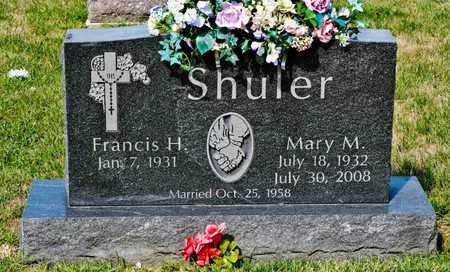 SHULER, MARY M - Richland County, Ohio | MARY M SHULER - Ohio Gravestone Photos