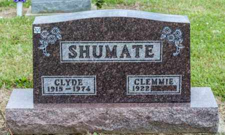 SHUMATE, CLYDE - Richland County, Ohio | CLYDE SHUMATE - Ohio Gravestone Photos