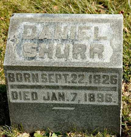SHURR, DANIEL - Richland County, Ohio | DANIEL SHURR - Ohio Gravestone Photos