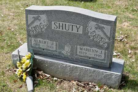 SHUTY, MARILYN J - Richland County, Ohio | MARILYN J SHUTY - Ohio Gravestone Photos