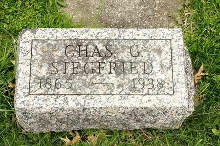SIEGFRIED, CHARLES G - Richland County, Ohio | CHARLES G SIEGFRIED - Ohio Gravestone Photos
