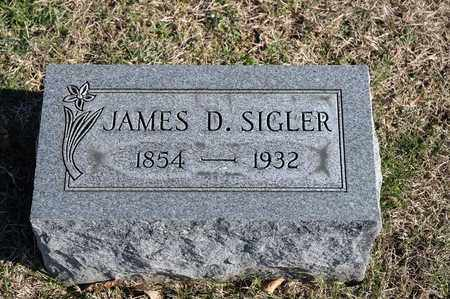 SIGLER, JAMES D - Richland County, Ohio | JAMES D SIGLER - Ohio Gravestone Photos