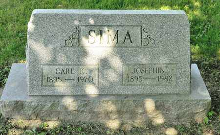 SIMA, CARL K - Richland County, Ohio | CARL K SIMA - Ohio Gravestone Photos