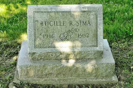SIMA, LUCILLE R - Richland County, Ohio | LUCILLE R SIMA - Ohio Gravestone Photos