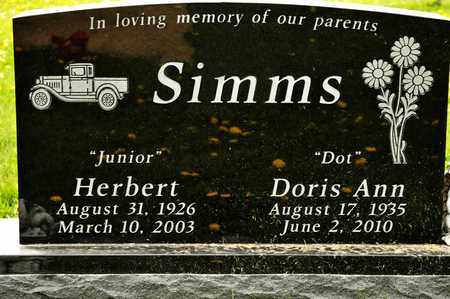 SIMMS, DORIS ANN - Richland County, Ohio | DORIS ANN SIMMS - Ohio Gravestone Photos