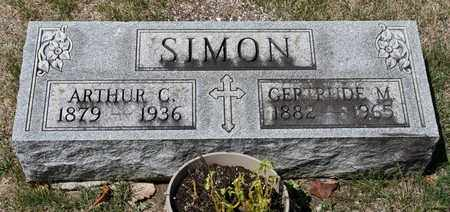 SIMON, GERTRUDE M - Richland County, Ohio | GERTRUDE M SIMON - Ohio Gravestone Photos