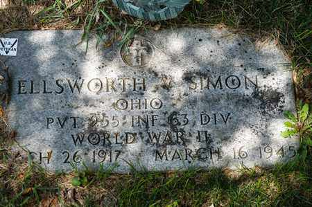 SIMON, ELLSWORTH V - Richland County, Ohio | ELLSWORTH V SIMON - Ohio Gravestone Photos