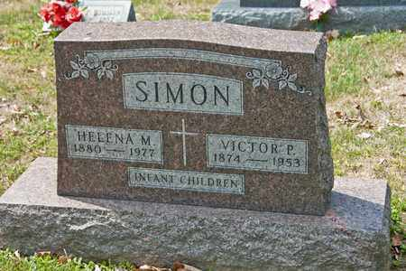 SIMON, VICTOR P - Richland County, Ohio | VICTOR P SIMON - Ohio Gravestone Photos