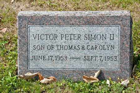 SIMON II, VICTOR PETER - Richland County, Ohio | VICTOR PETER SIMON II - Ohio Gravestone Photos