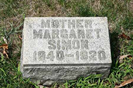 SIMON, MARGARET - Richland County, Ohio | MARGARET SIMON - Ohio Gravestone Photos