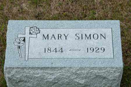 SIMON, MARY - Richland County, Ohio | MARY SIMON - Ohio Gravestone Photos