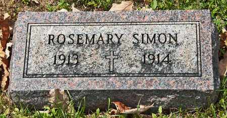 SIMON, ROSEMARY - Richland County, Ohio | ROSEMARY SIMON - Ohio Gravestone Photos
